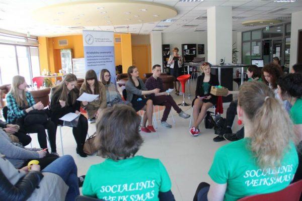mokymai apie savanorystę